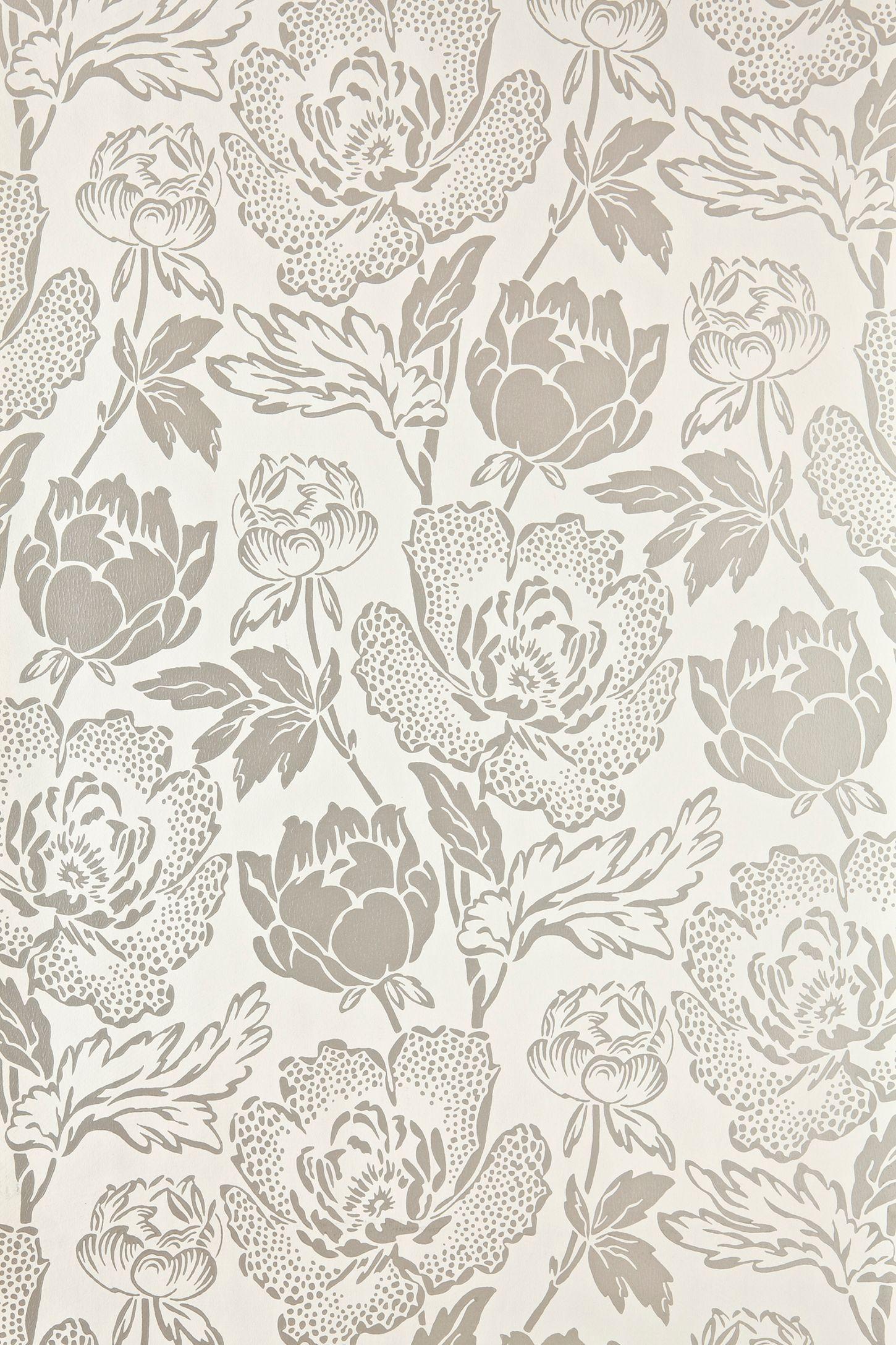 Farrow & Ball Peony Wallpaper Cream wallpaper, Pattern