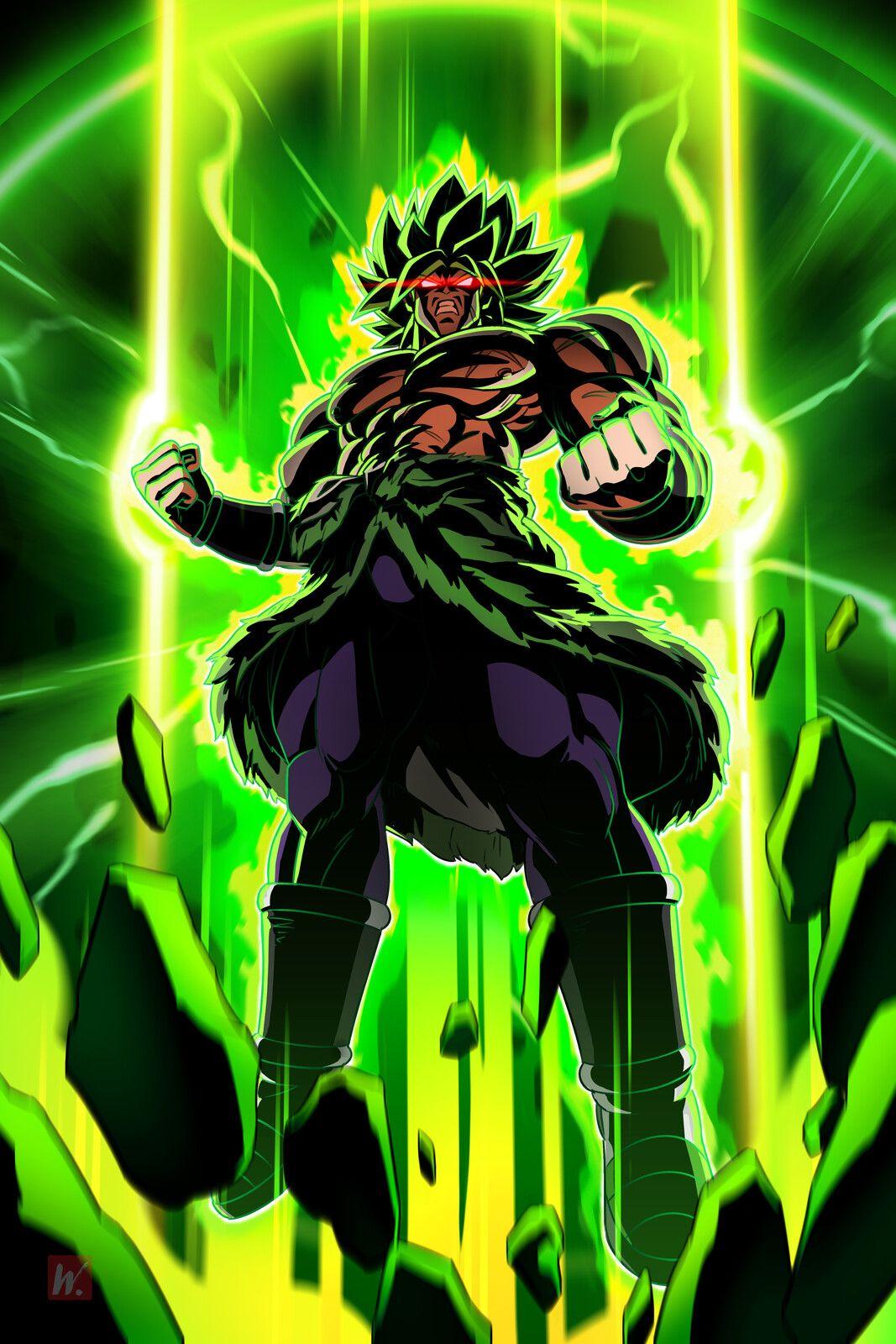 Broly Super Saiyajin Legendario Dbz Balle De Dragon
