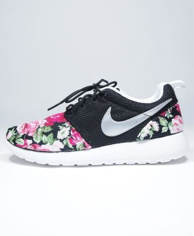 Nike Roshe Run Floral Custom