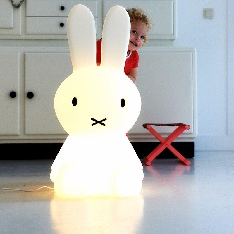 Mr Maria Stehleuchte Lampe Hase Miffy XL, 199,00 € | Babyzimmer ...