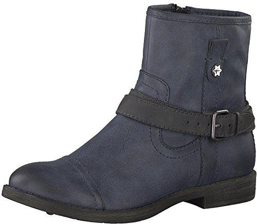 Tamaris Damen Stiefeletten Ankle Boot Navy (blau)