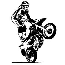 resultado de imagem para adesivo moto empinando alex pinterest