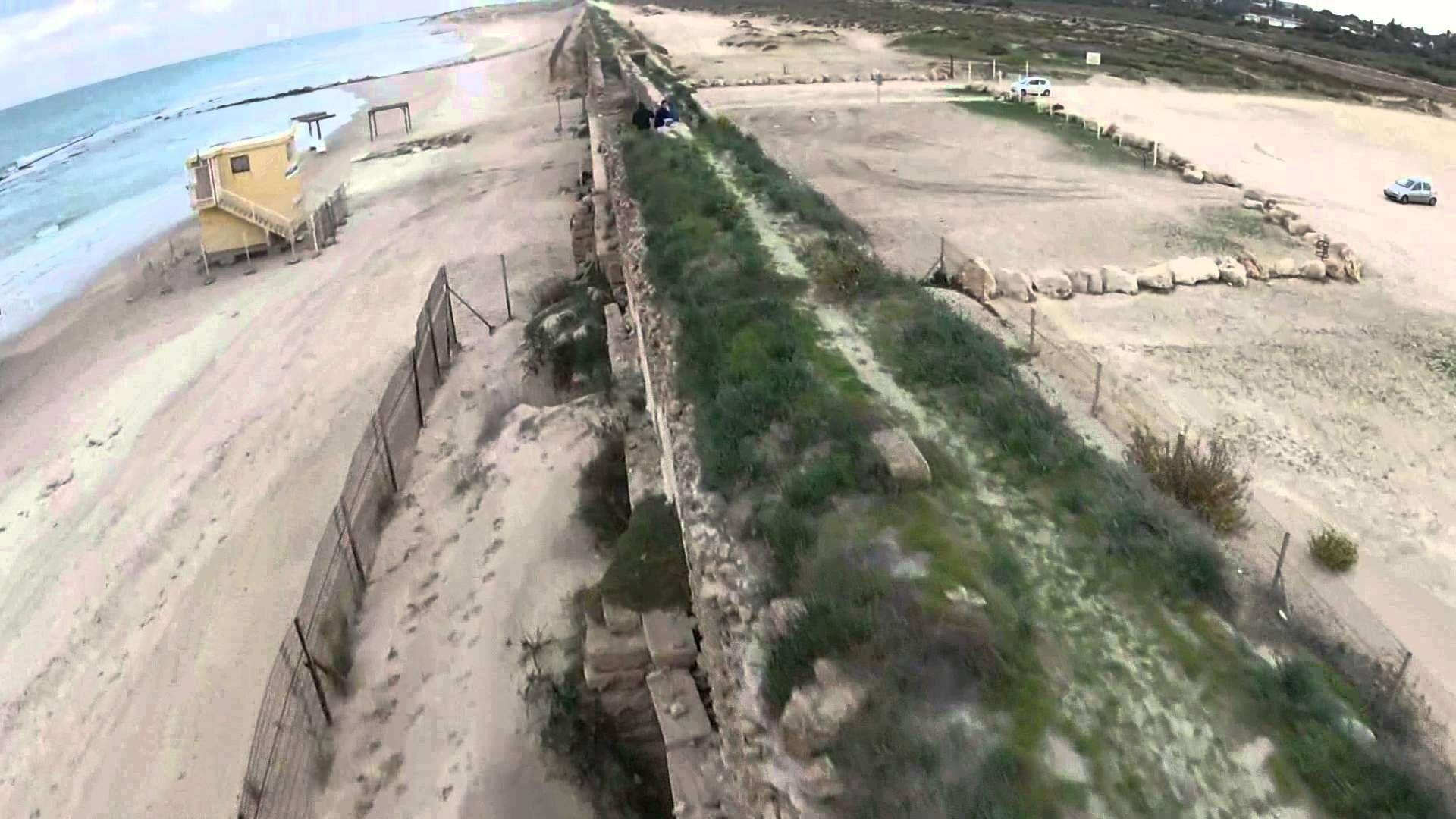 Caesarea Aqueduct, Caesarea, Israel aerial - Google Search