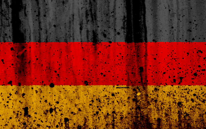 Download Wallpapers Flag Of Germany German Flag 4k Stone Texture Grunge Europe Germany National Symbols Germany National Flag Besthqwallpapers Com German Flag Flags Of The World Germany Flag