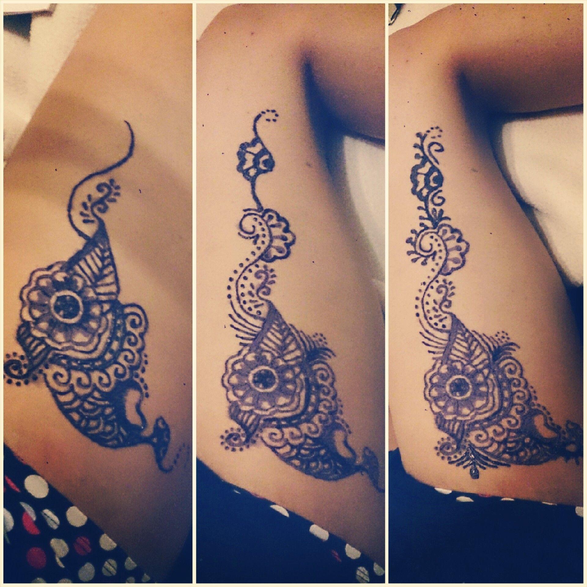 An upper leg thigh tattoo hand tattoos tattoos hand