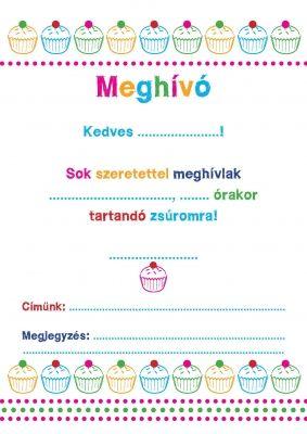 letölthető születésnapi meghívók Nyomtatható szülinapi meghívó lányoknak | nyomtatható | Pinterest  letölthető születésnapi meghívók