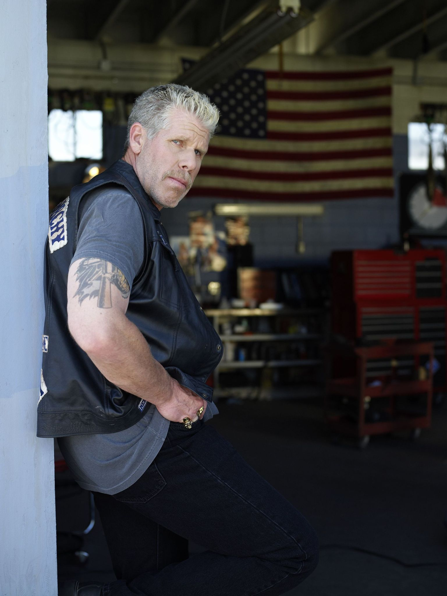 Sons Of Anarchy Photo Clay Morrow Sons Of Anarchy Ron Perlman Sons Of Anarchy Samcro