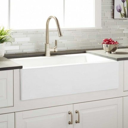 Which Is A Better Farmhouse Sink Material Fireclay Or Cast Iron