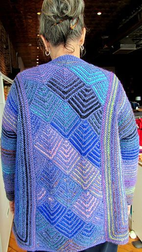 Ravelry: Diamond Panel Jacket pattern by Melody Johnson | tejido ...