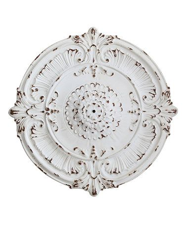 Metal Ceiling Medallion This Metal Ceiling Medallion Is Perfect #zulilyfinds  Decor