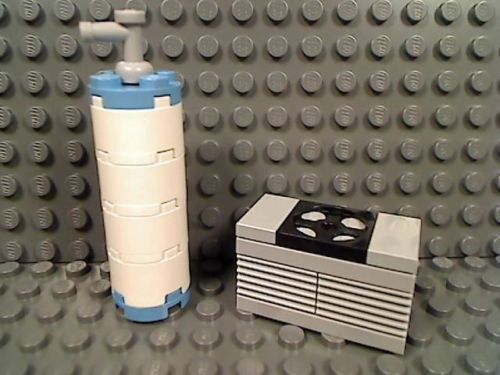 Lego Air Conditioner Water Heater Unit Appliance Garage House Ac A C Cool Heat Appliance Garage Water Heater Garage House
