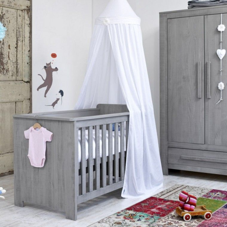 Basicline Vittoria Babykamer Grijs Bed 60 X 120 Cm
