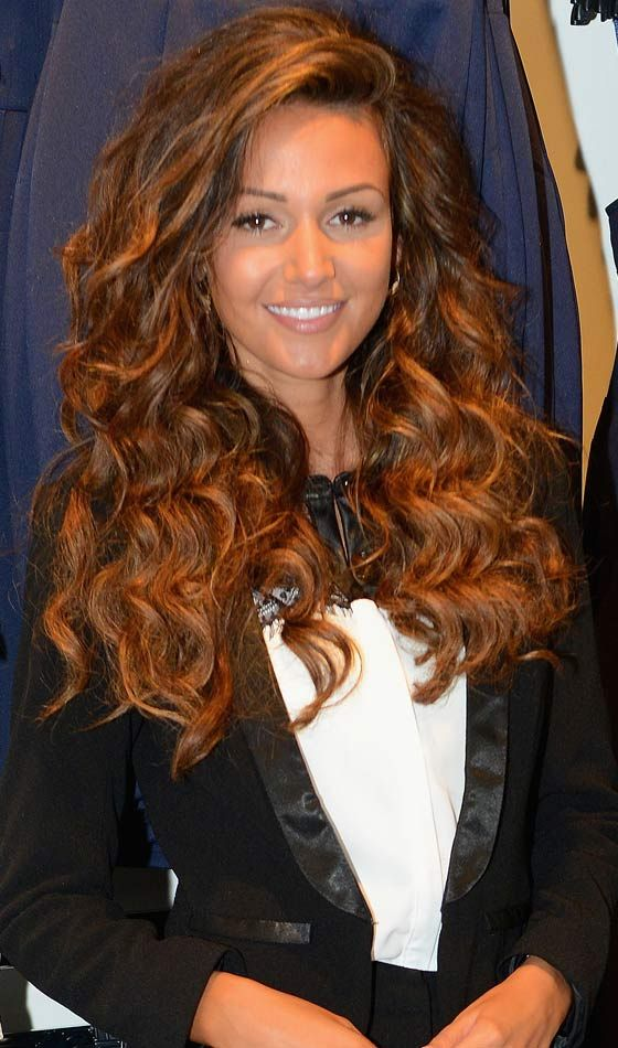 Curly Homecoming Hairstyles - Long Curly Hair