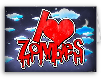 #Zazzle                   #love                     #Love #Zombies #Cards #from #Zazzle.com             I Love Zombies Red Cards from Zazzle.com                                      http://www.seapai.com/product.aspx?PID=1615266