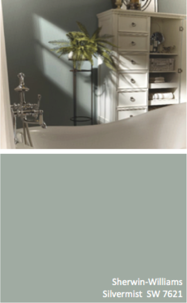 Sherwin Williams Silvermist Sw 7621 Gray The New Neutral Gray Paint Colors Pinterest