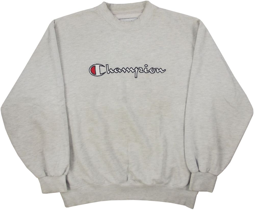 Image of Vintage Champion Sweatshirt Size Medium | ||SWEATERS ...