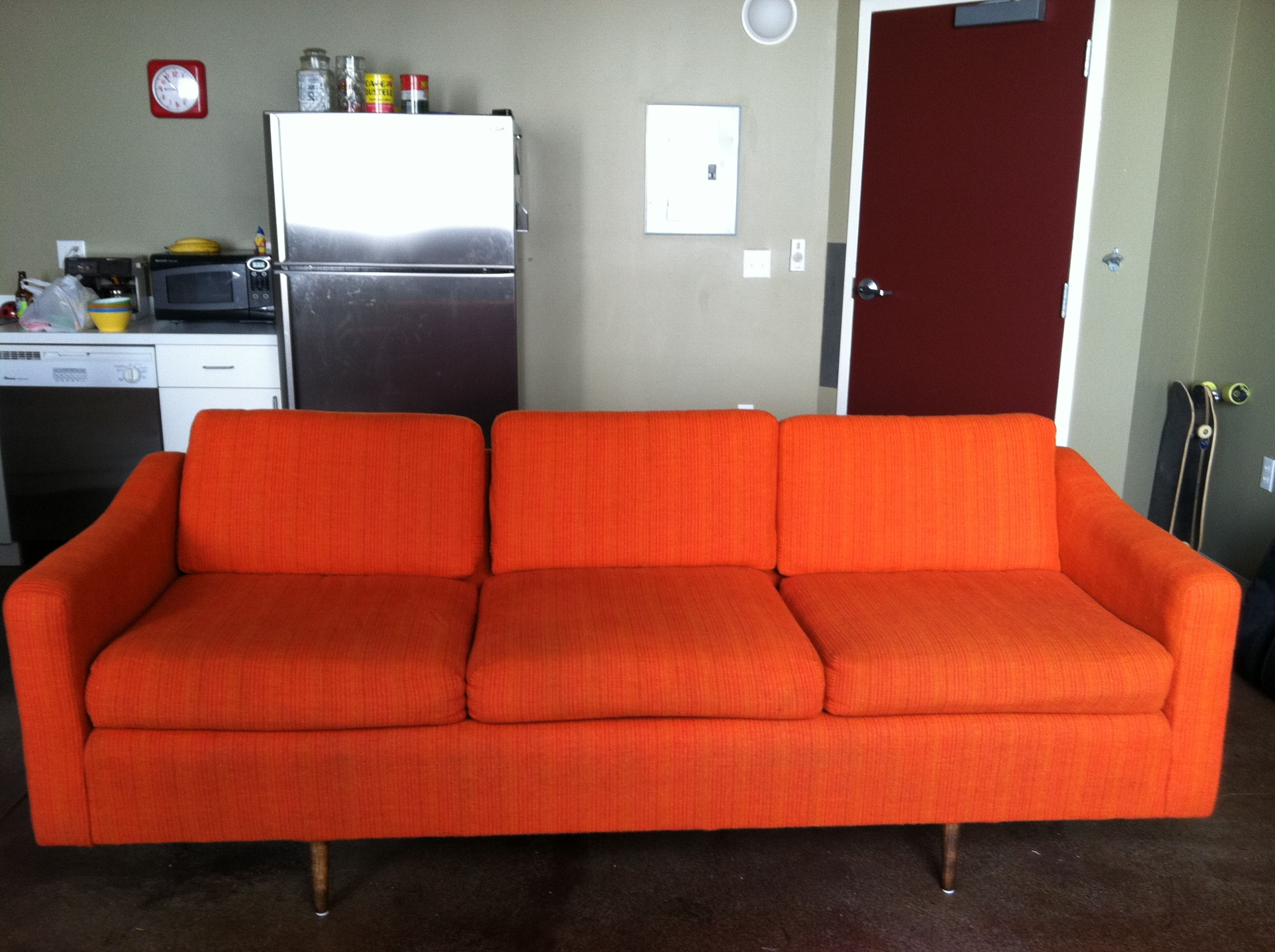 cornered on craig's list: the story of my bright orange couch