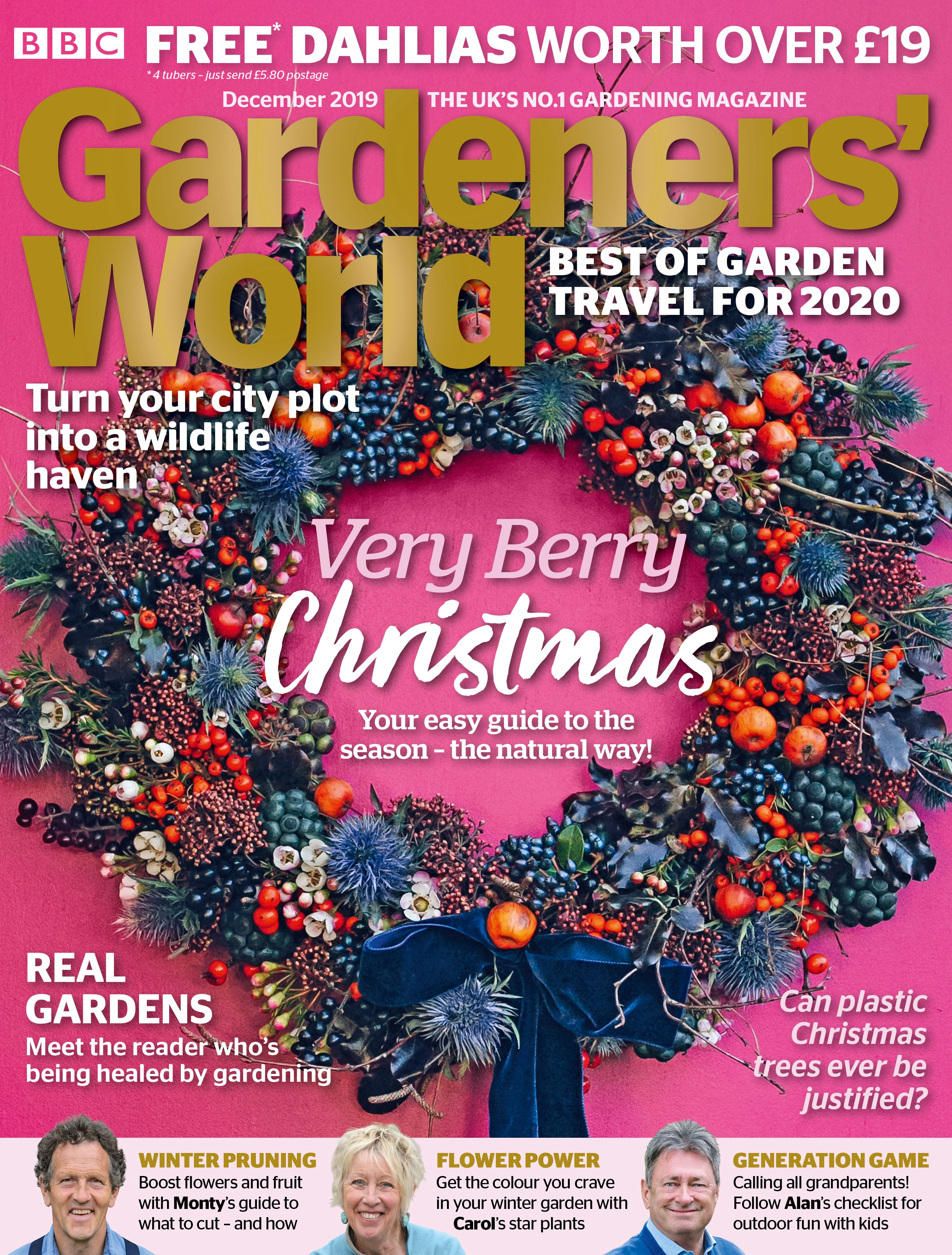 Anna Potter S Foraged Christmas Wreath Photograph By India Hobson Gardening Magazines Bbc Magazine