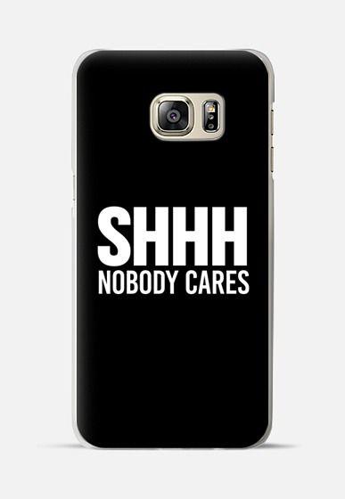 Nobody Cares iPhone 11 case
