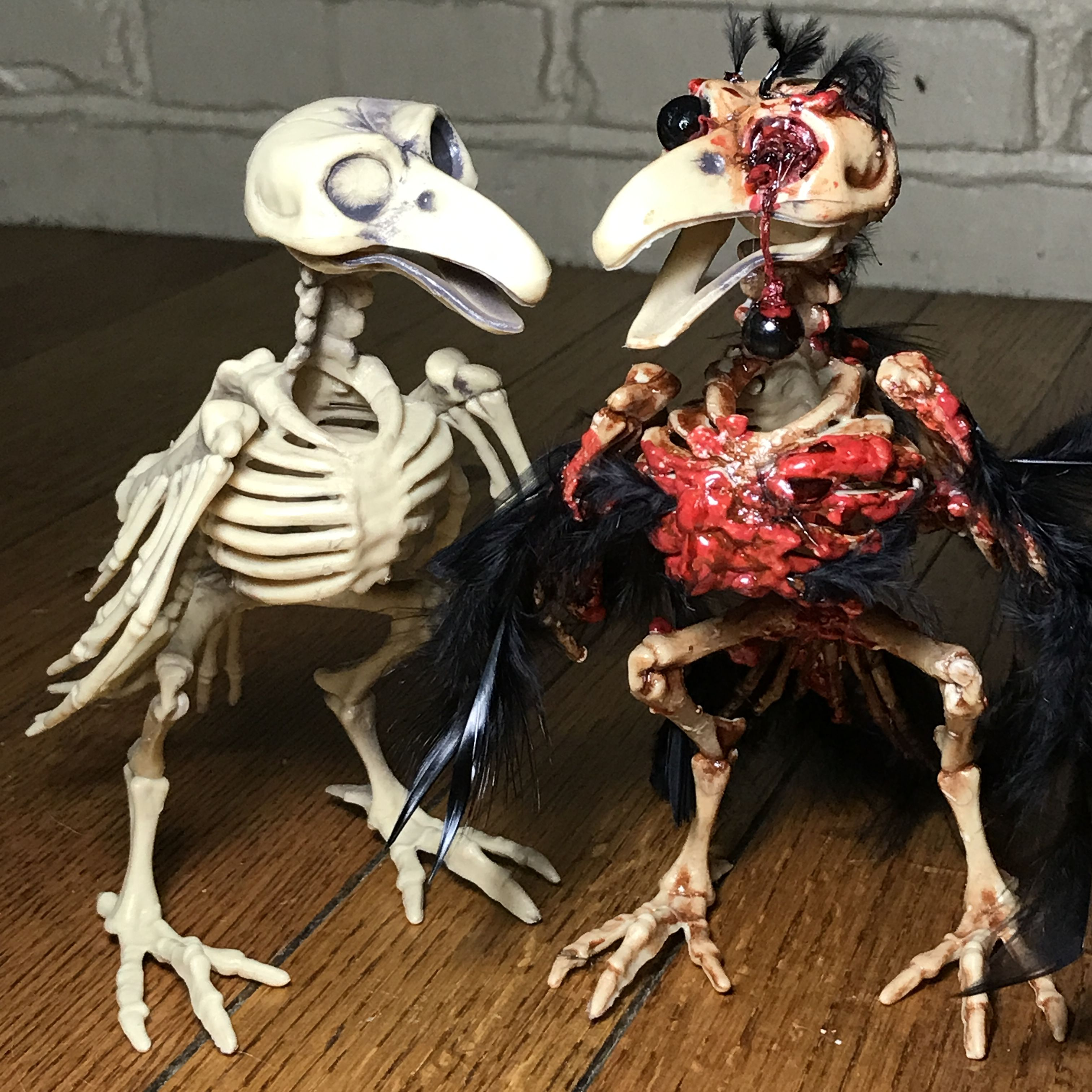 Make A Zombie Bird! Easy And Cheap Tutorial By Monster