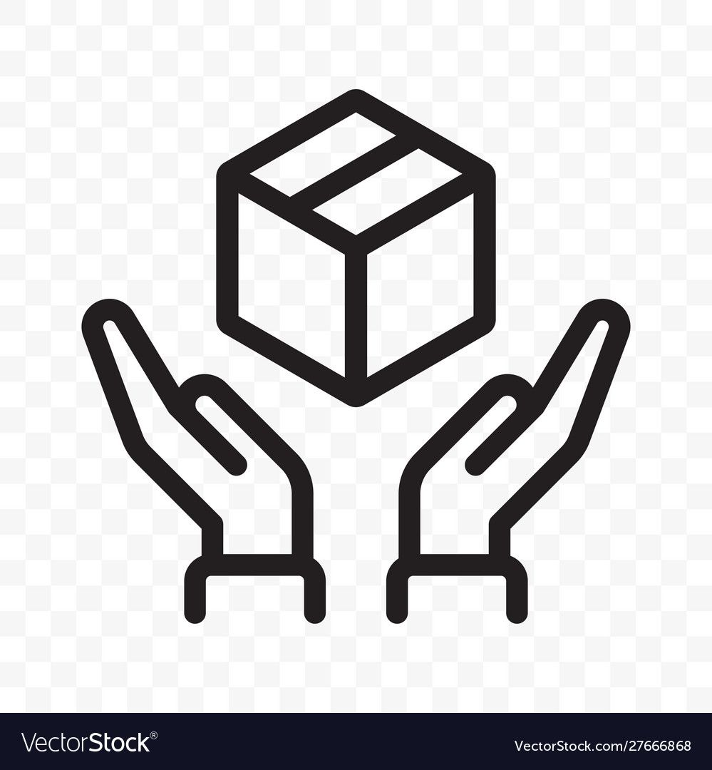Fragile icon handle with care logistics and Vector Image