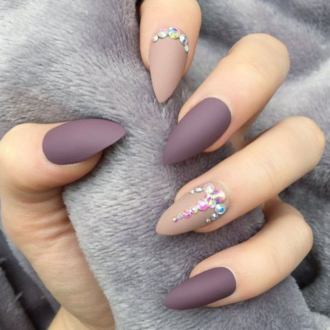 36 Amazing Prom Nails Designs - Queen\'s TOP 2018 | Diseños de uñas ...
