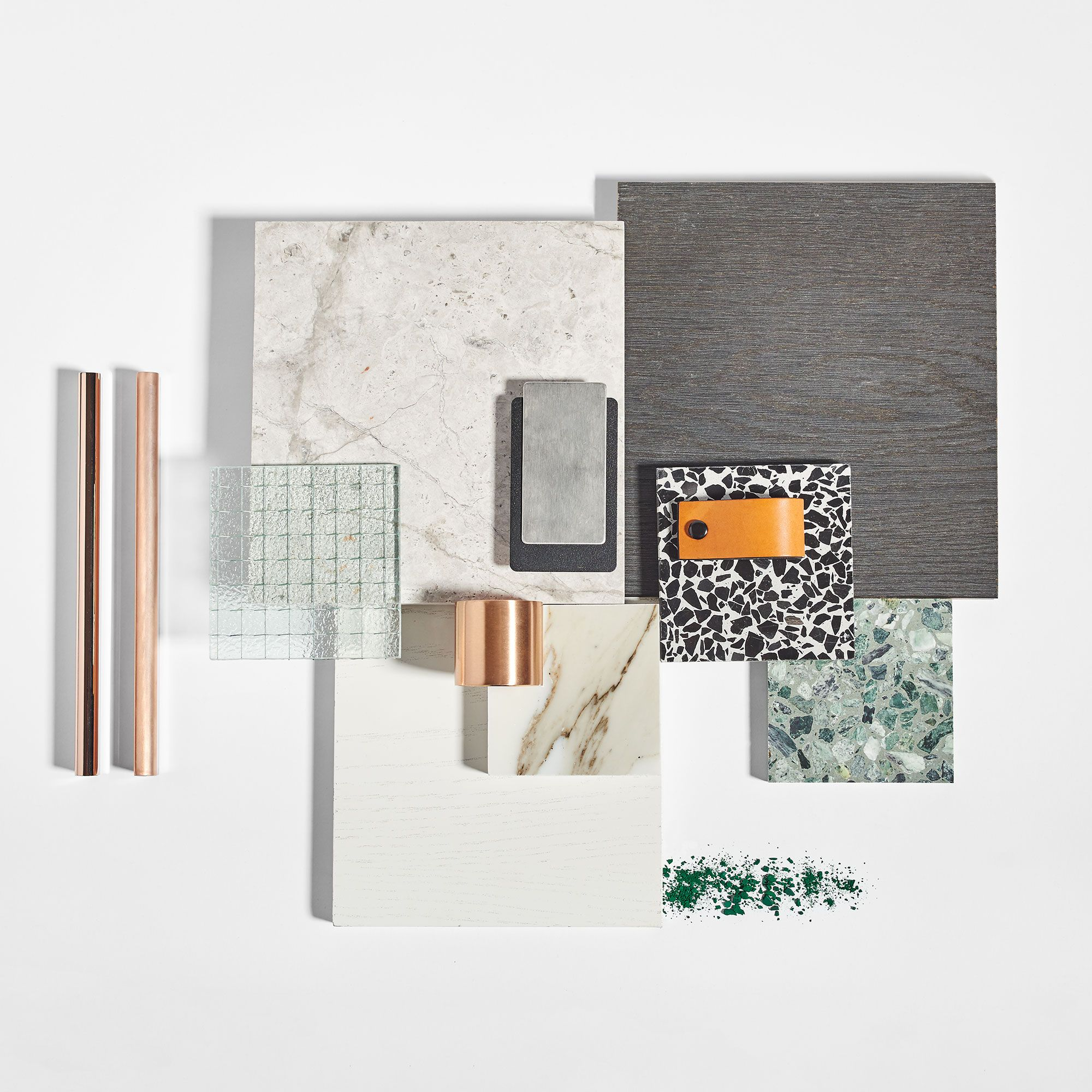 Sally Caroline Interior Design Flat Lay Moodboard Pinterest