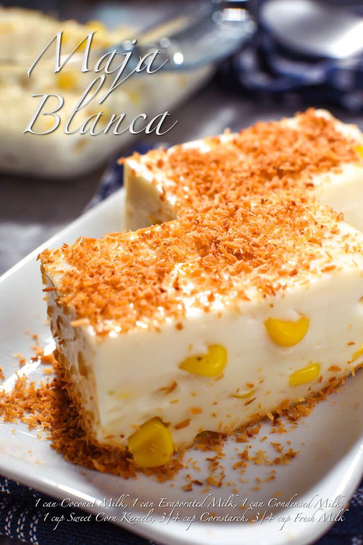 Maja Blanca | Food For Net