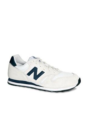 new balance 373 blue white