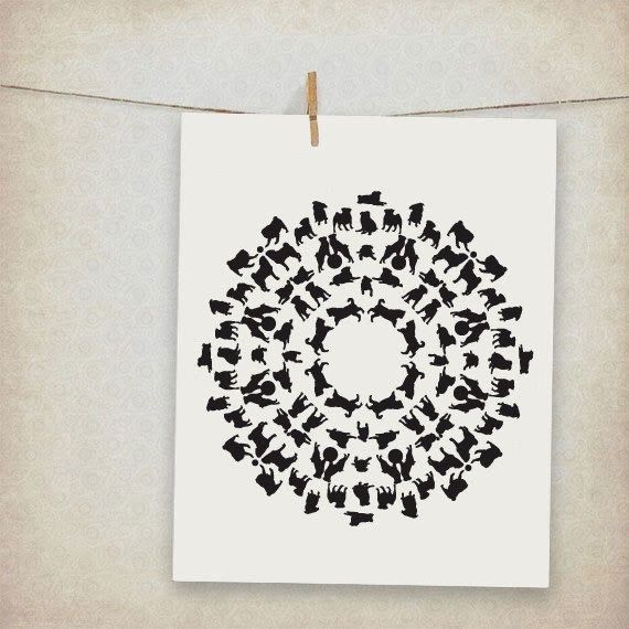 Crafts For Dog Lovers: Animal Art, Gift For