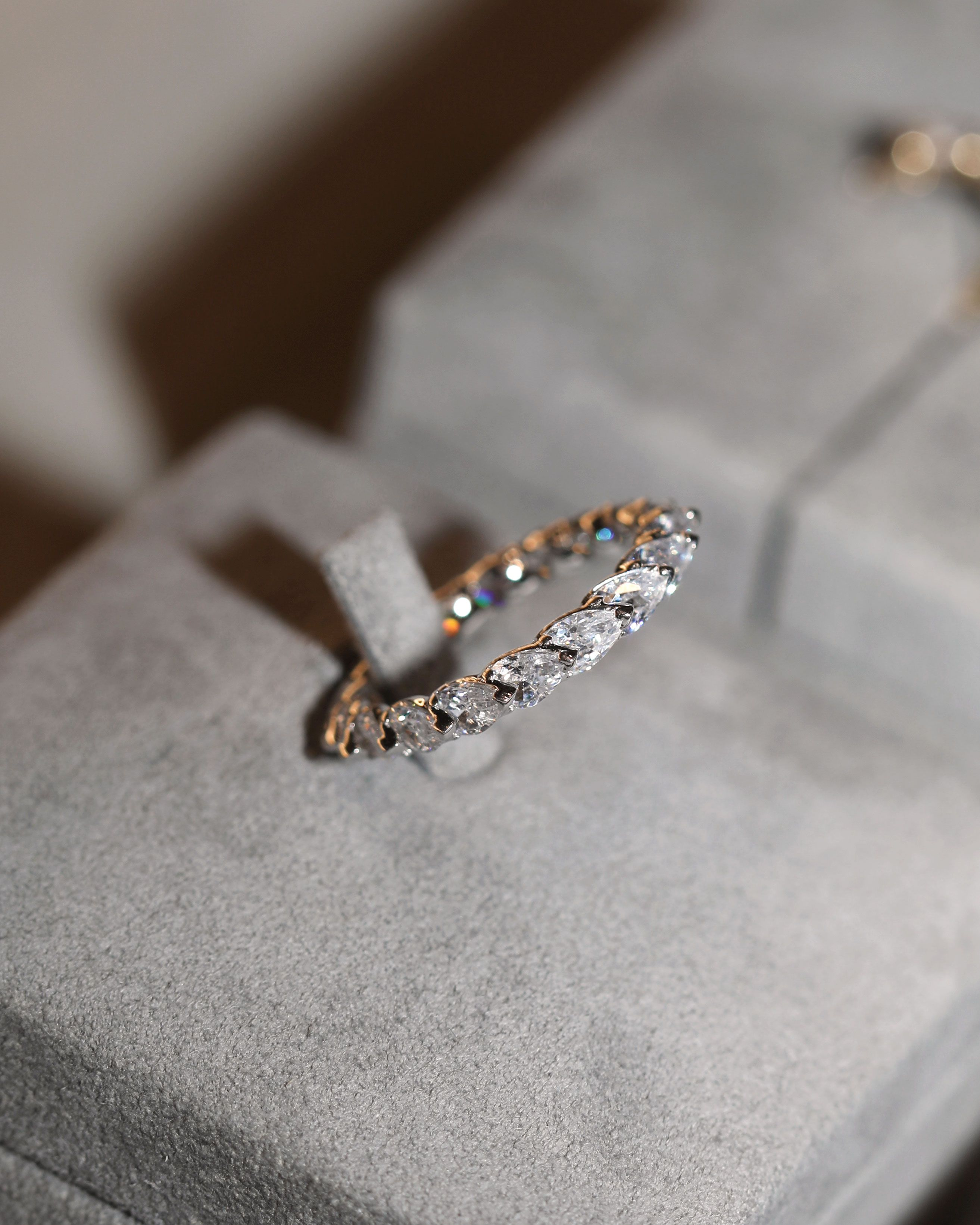 Discover Our Diamond Wedding Bands Online Or In Stores Sarahandsebastian Diamondring In 2020 Wedding Ring Bands Diamond Wedding Bands Wedding Bands