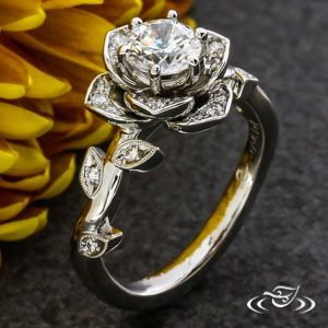 Photo of Design Your Own Unique Custom Engagement Ring and Unusual Wedding Bands in Gold …