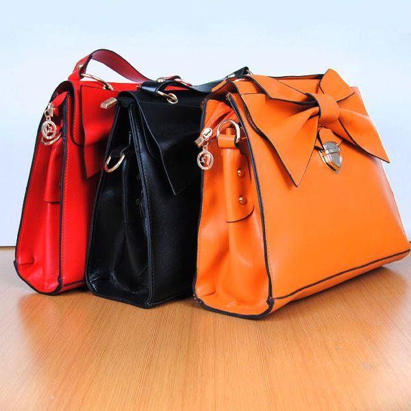 2013 Korean Lady Women Bow Handbag Purse Totes Satchel HOBO Bags Shoulder bag