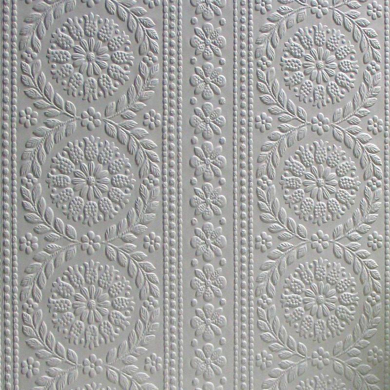 Anaglypta Paintable 33 X 20 5 Floral And Botanical 3d Embossed Wallpaper Embossed Wallpaper Paintable Textured Wallpaper Anaglypta Wallpaper