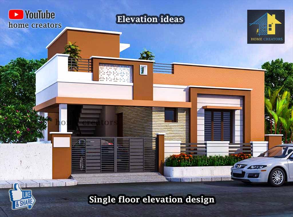 More Ideas Visit Youtube Home Creators Small House Elevation