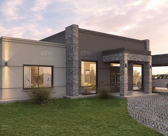 Casarella dise a cada proyecto a tu gusto y necesidad for Fachadas de casas modernas para colorear