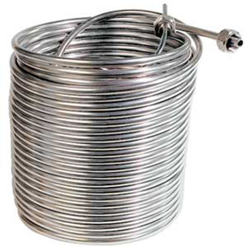 Stainless Steel Cooling Coil Left Hand 120 X 3 8 O D