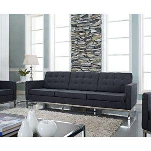 Loft Sofa 188 Dgr By Lexmod Sofa Modern Sofa Button Sofa