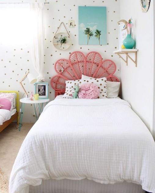 33 Fun Bedroom Ideas For Teens Living Room Cozy Shared Girls Bedroom Home Decor Bedroom Girls Bedroom