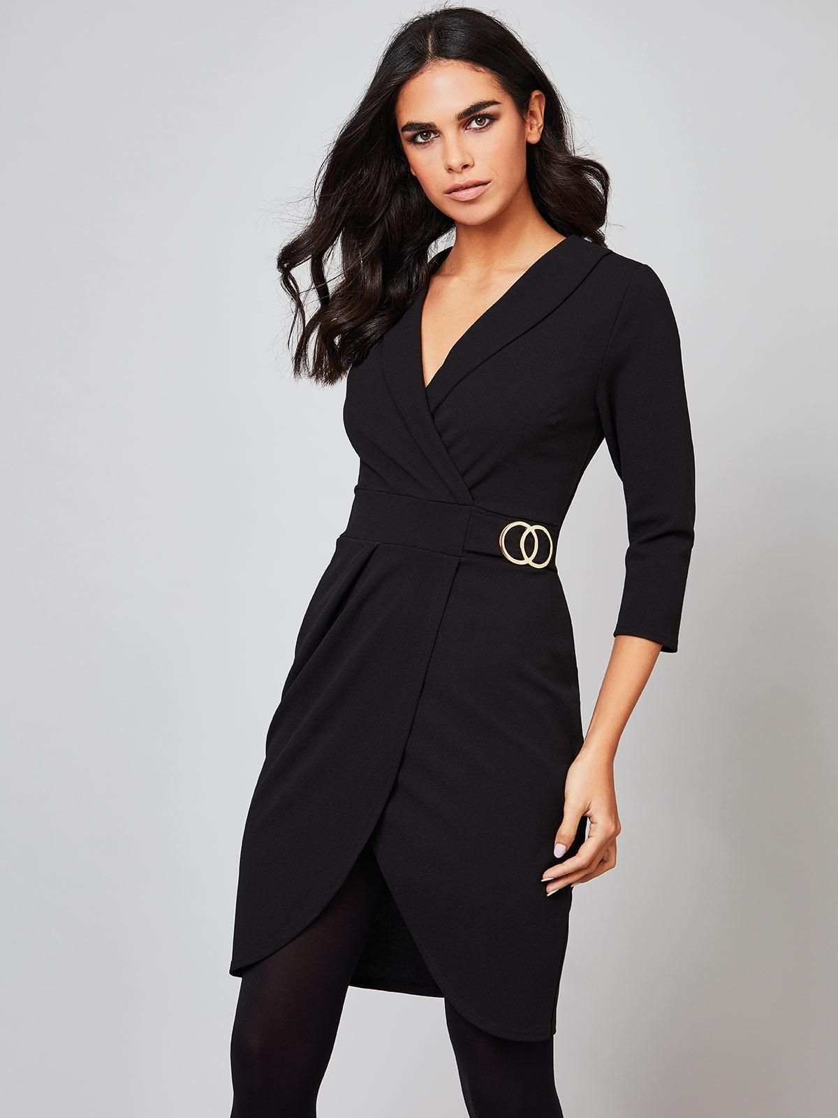 5008effe1487d Womens ENVY Black Blazer Dress | Peacocks | ♛ Smart Casual ♛ To ...