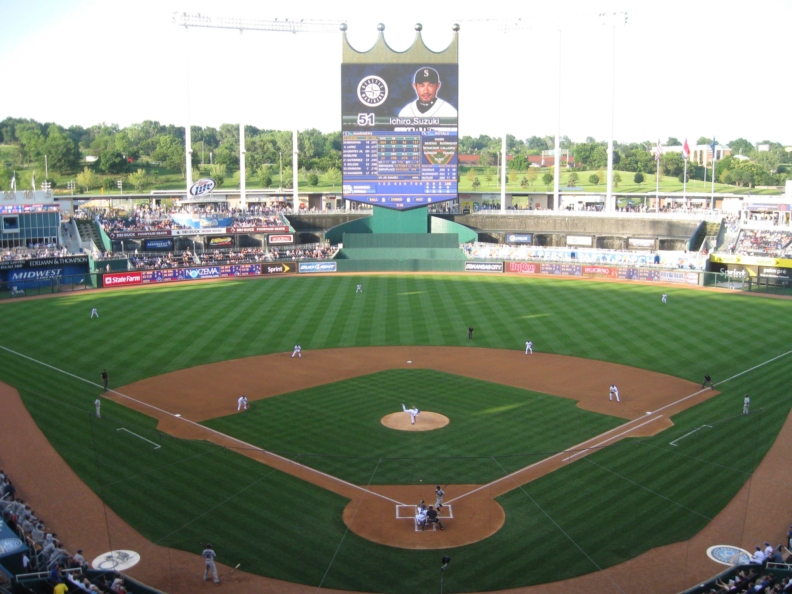 Royal Stadium In Kansas City Missouri Kansas City Missouri Kansas Missouri Kansas City