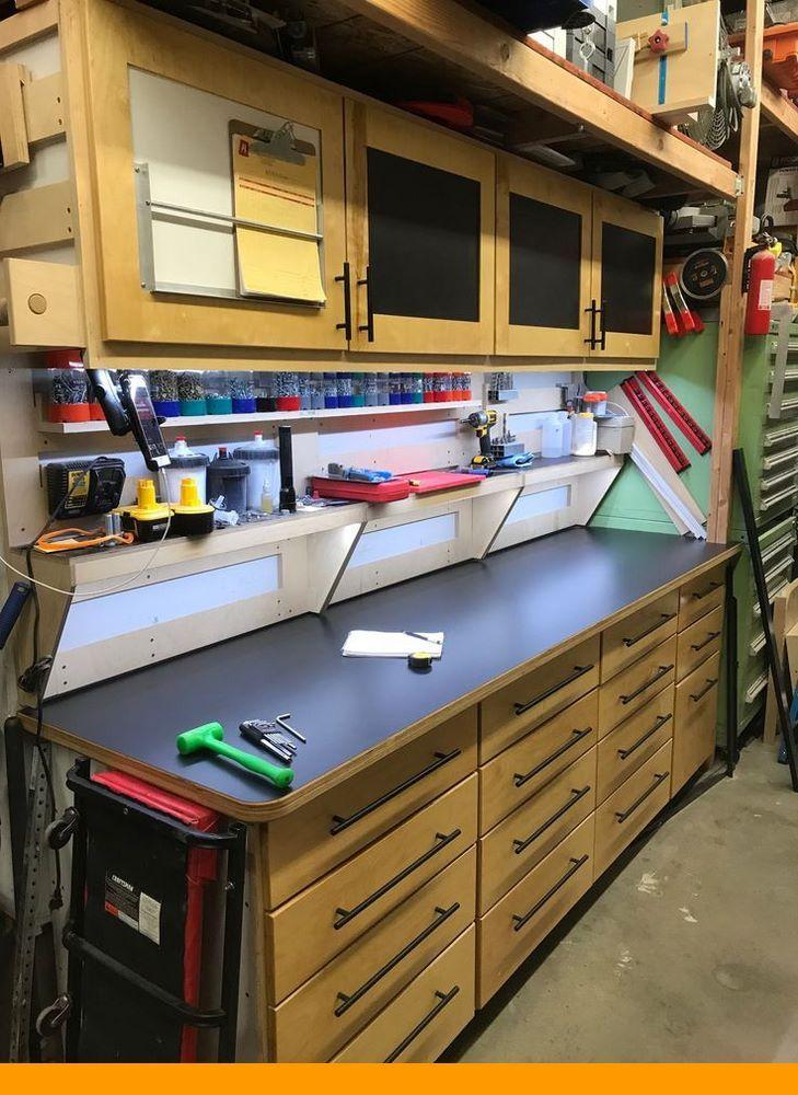 how to create your own garage workshop garage work bench on top new diy garage storage and organization ideas minimal budget garage make over id=40509
