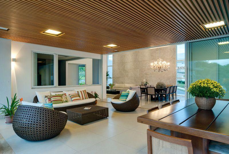 Casa moderna en la Ladera httpgoogls5LUAn Salas de Estar