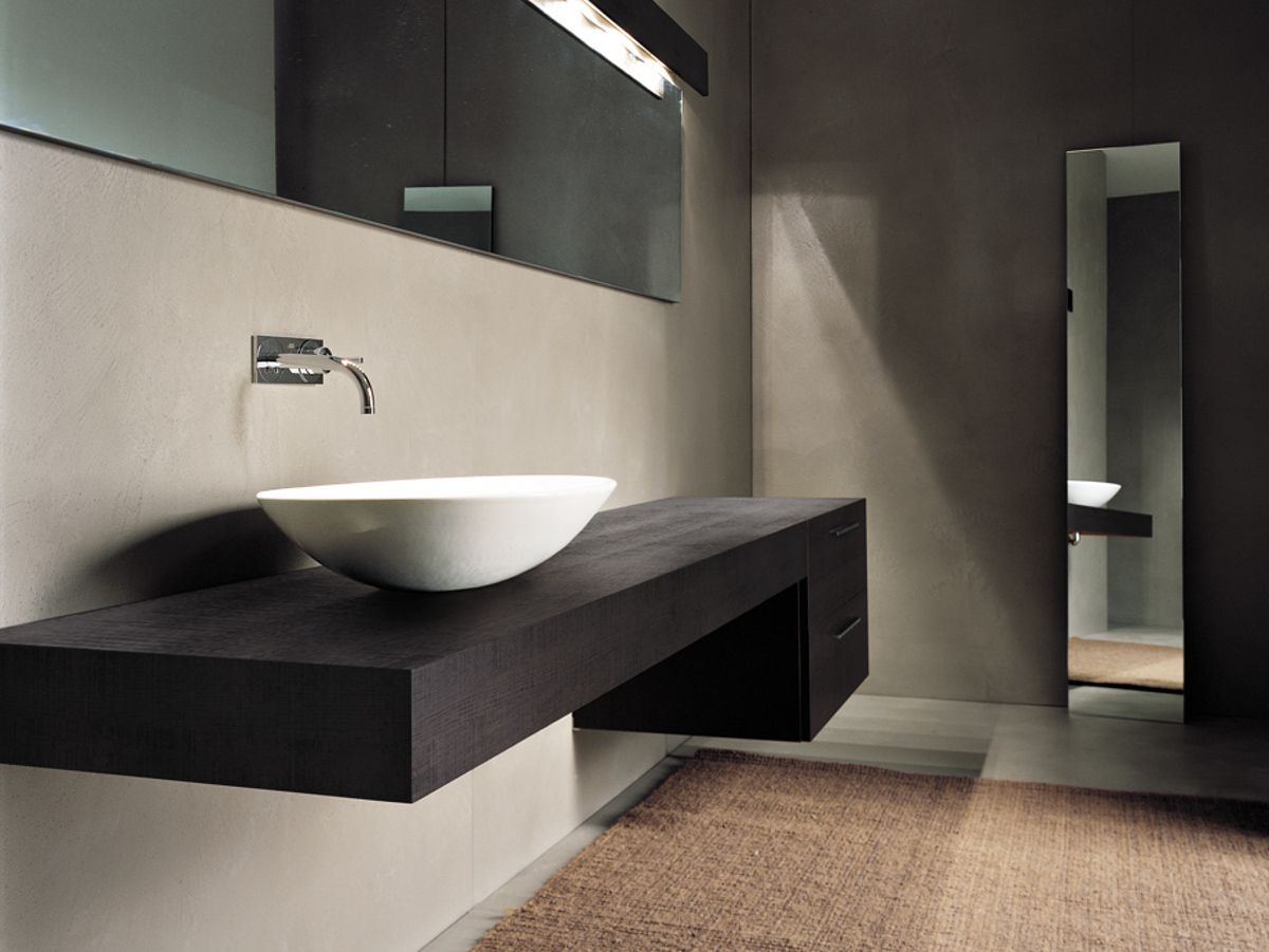 Block2 Wenge Vanity Unit By Moab 80 Design Gabriella Ciaschi