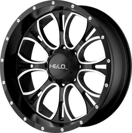 American Racing Helo Series 879 Wheel In Black For 07 18 Jeep