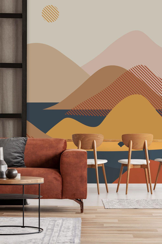 Grand Abstract Wallpaper Murals In 2020 Mural Wallpaper Wall Murals Wall Murals Painted