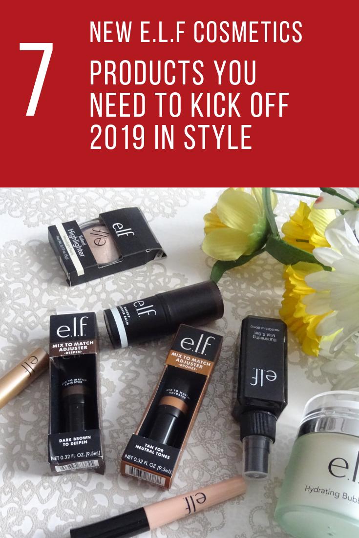 ELF Cosmetics Haul to kick off 2019 Elf cosmetics, Elf