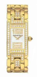 Audemars Piguet Promesse New, 18kt Ladies Watch, mother of pearl diamond dial/bezel 12,000 special pricing $9,000.00 call 888-999-4038