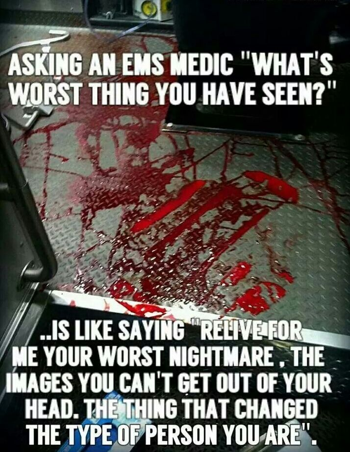 Whats it like to be a paramedic