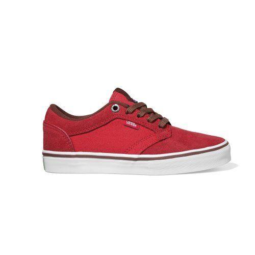 Íntimo Adjunto archivo Chillido  Vans Type II Shoe Red Brick 1 -Kids Vans. $33.75. Save 25%!   Boys shoes,  Vans, Shoes